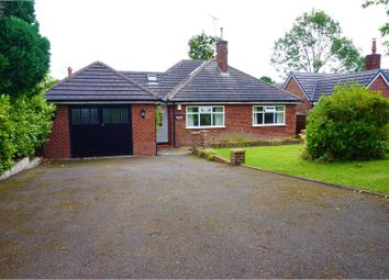Thumbnail 3 bed detached bungalow for sale in Gawsworth Road, Macclesfield