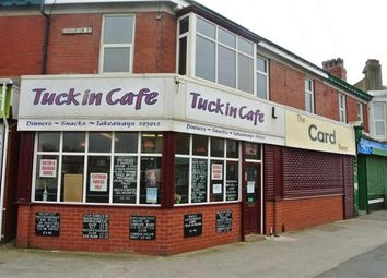 Thumbnail 4 bed property for sale in Tuck In Cafe, 122 Egerton Road, Blackpool