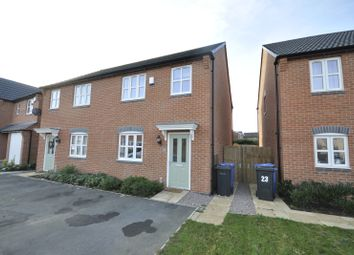 Thumbnail 3 bed semi-detached house for sale in Booton Field Crescent, Chellaston, Derby