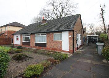 Thumbnail 2 bed semi-detached bungalow for sale in Highbury Avenue, Flixton, Urmston, Manchester