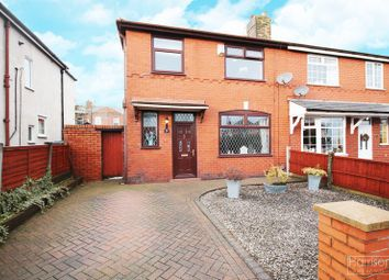 Thumbnail 3 bed semi-detached house for sale in Wyndham Avenue, Middle Hulton, Bolton, Lancashire.