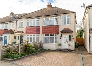 Thumbnail 3 bed semi-detached house for sale in Cottimore Avenue, Walton-On-Thames, Surrey