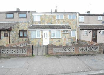 Thumbnail 3 bed terraced house to rent in Coleridge Road, Tilbury, Essex