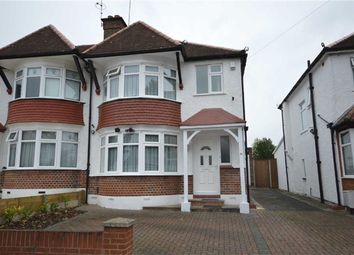 Thumbnail 3 bed semi-detached house for sale in Ambleside Gardens, Wembley, Middlesex