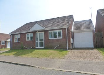 Thumbnail 3 bed detached bungalow for sale in Swindells Close, New Costessey, Norwich