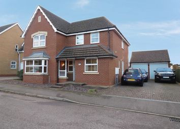 Thumbnail 4 bed detached house for sale in Liddington Way, Kingsthorpe, Northampton