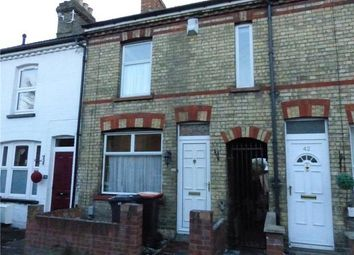 Thumbnail 2 bed terraced house to rent in Beaconsfield Street, Bedford