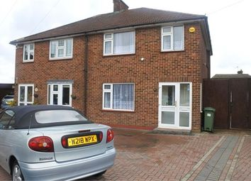 Thumbnail 3 bed semi-detached house to rent in Ruxley Close, Sidcup, Sidcup, Kent.