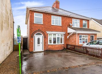 Thumbnail 3 bed semi-detached house for sale in Keats Lane, Earl Shilton, Leicester