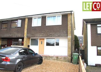Thumbnail 3 bed end terrace house to rent in Dormy Close, Sarisbury Green, Southampton