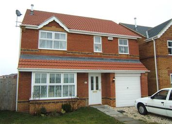 Thumbnail 4 bed detached house to rent in Vincent Road, Scartho Top, Grimsby