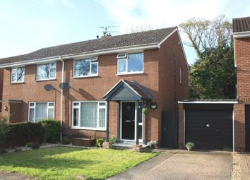 Thumbnail 3 bedroom semi-detached house for sale in Coleridge Road, Ottery St. Mary