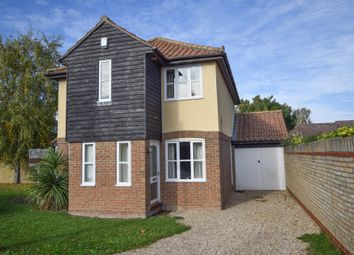 Thumbnail 4 bedroom detached house for sale in Holkham Mead, Burwell, Cambridge