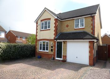 Thumbnail 4 bedroom detached house for sale in Ferndale, Yaxley, Peterborough