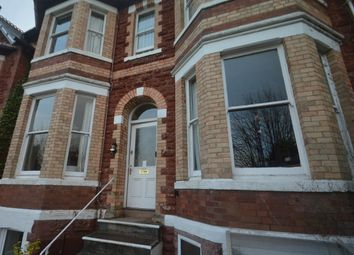 Thumbnail 3 bed flat to rent in Walnut Road, Torquay