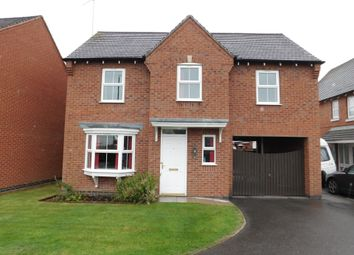Thumbnail 4 bed detached house for sale in Buckingham Drive, Church Gresley