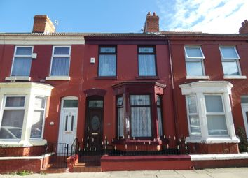 Thumbnail 3 bedroom terraced house for sale in Romer Road, Liverpool
