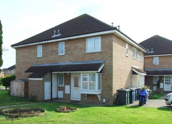 Thumbnail 1 bedroom terraced house to rent in Orwell Close, St. Ives, Huntingdon
