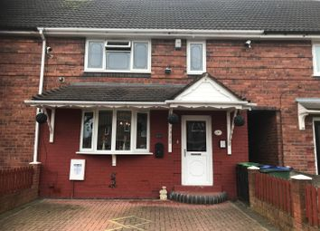 Thumbnail 3 bedroom terraced house for sale in Turton Road, Tipton, West Midlands