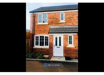 Thumbnail 3 bed semi-detached house to rent in Burnet Close, Shavington, Crewe