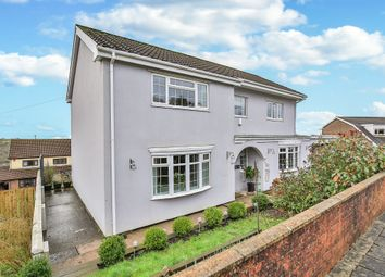 Thumbnail 4 bed detached house for sale in Highlands, Tonyrefail, Porth