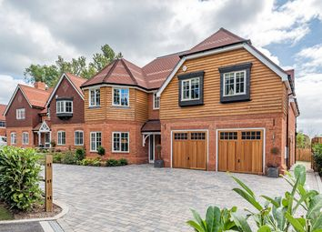 Thumbnail 5 bed detached house for sale in Rosebank, Chertsey Road, Chobham, Woking