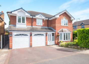 Thumbnail 5 bed detached house for sale in Broomhill Avenue, Worksop