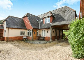 Thumbnail 4 bed detached house for sale in Bunny Lane, Sherfield English, Romsey