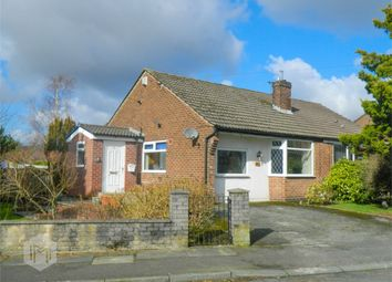 Thumbnail 2 bedroom semi-detached bungalow for sale in Lea Gate Close, Harwood, Bolton, Lancashire