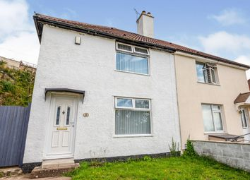 Thumbnail 2 bed semi-detached house for sale in Efford Lane, Plymouth