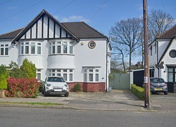 Thumbnail 4 bed semi-detached house for sale in Woodhurst Avenue, Petts Wood, Kent