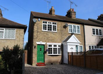 Thumbnail 2 bed end terrace house for sale in Crescent Road, Warley, Brentwood
