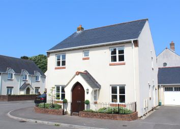 Thumbnail 4 bed detached house for sale in Burrows Close, Southgate, Swansea