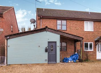 Thumbnail 3 bed end terrace house for sale in Castle Road, Wormegay, King's Lynn