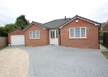 Thumbnail 3 bed detached bungalow for sale in Hereward Road, Spalding