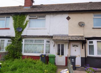 Thumbnail 2 bed terraced house for sale in Snowden Road, Cardiff