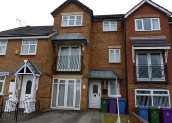 Thumbnail 4 bed town house to rent in Lockfields View, Liverpool