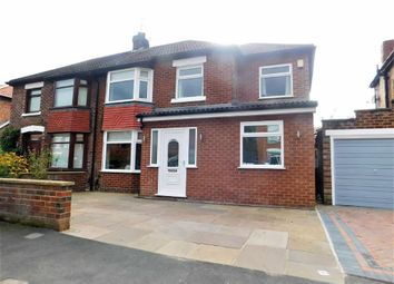 Thumbnail 4 bed semi-detached house for sale in Emlyn Grove, Cheadle, Stockport