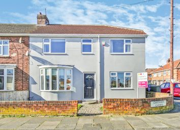 Thumbnail 4 bed semi-detached house for sale in Chatsworth Gardens, Billingham