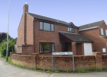 Thumbnail 4 bed detached house for sale in Wiltshire Way, Westbury