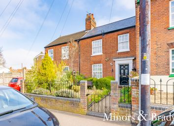 Thumbnail 3 bed terraced house for sale in Grove Road, Norwich