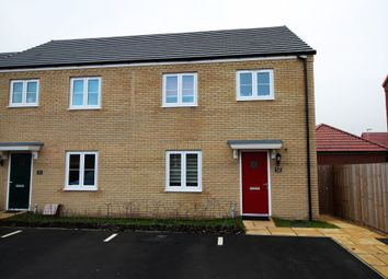 Thumbnail 3 bed semi-detached house for sale in Stour Close, Pinchbeck, Spalding, Lincolnshire