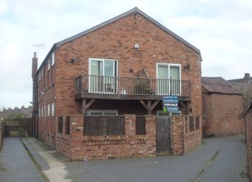 Thumbnail 1 bed flat for sale in Hall O'shaw Street, Crewe