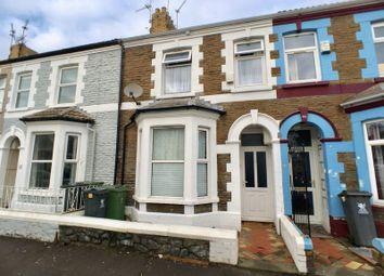 Thumbnail 3 bedroom terraced house for sale in Pentrebane Street, Grangetown, Cardiff