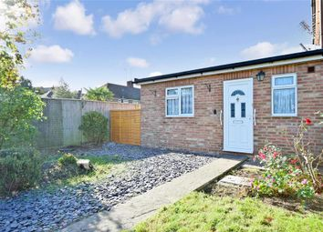 Thumbnail 1 bed terraced bungalow for sale in Manor Way, Uckfield, East Sussex