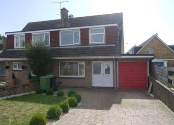 Thumbnail 3 bed semi-detached house to rent in Elm Grove Drive, Dawlish