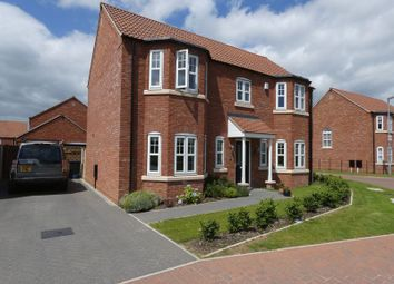 Thumbnail 4 bed detached house for sale in Loweswater Close, Waddington, Lincoln