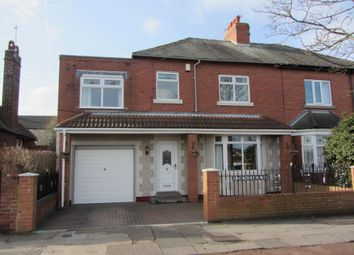 Thumbnail 5 bed semi-detached house for sale in Deneholm, Monkseaton