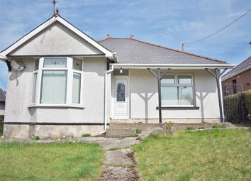 Thumbnail 3 bed detached bungalow for sale in Leigh Road, Pontypool