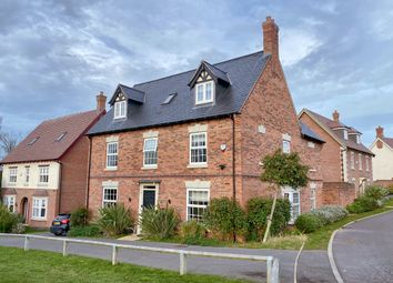 Thumbnail 5 bed detached house for sale in James Way, Leicestershire, Scraptoft